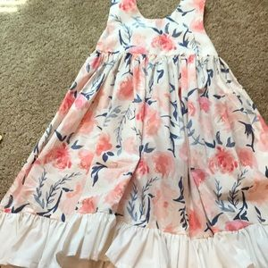 Other - NEW Frilly Fox Easter Custom Boutique Dress 8/10